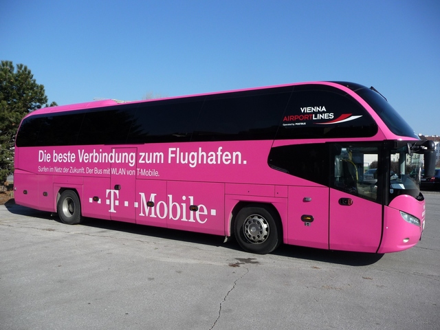 öbb Flughafenbus Mit Kostenlosem Wlan Ausgestattet
