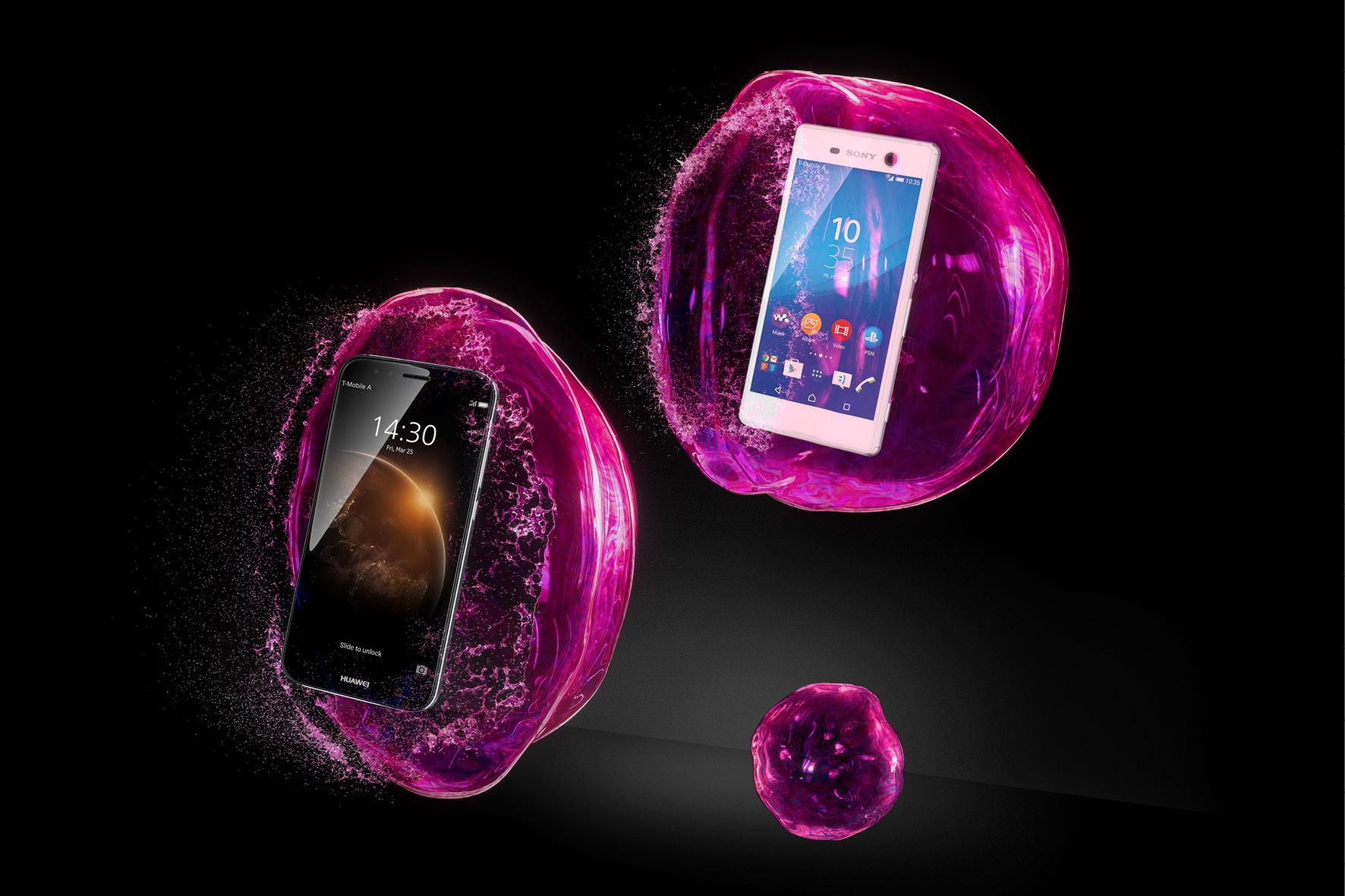 T-Mobile Knaller nur für kurze Zeit: Huawei GX8 und Sony Xperia M5 um 0 Euro Anzahlung