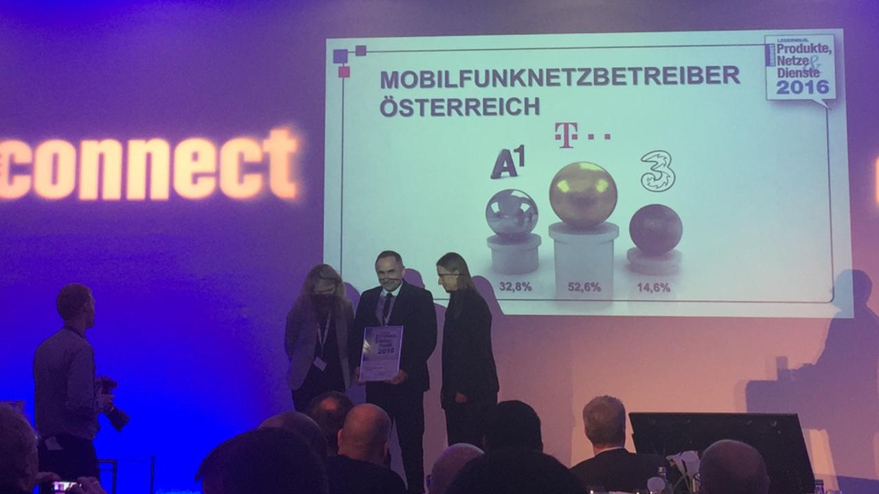 T-Mobile ist der beliebteste österreichische Mobilfunker