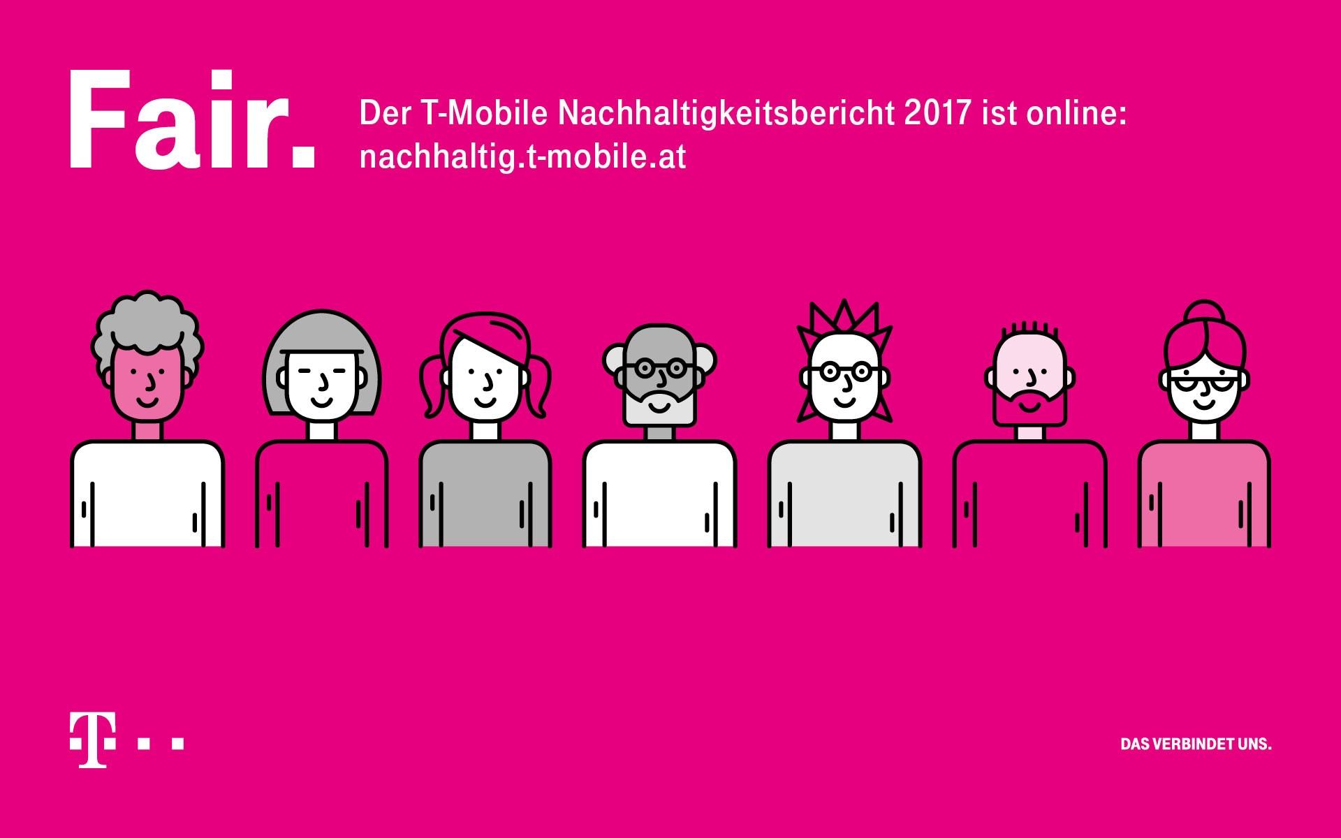Energieeffizienz, CO2-Neutralität, hohe Investitionen in Österreich: T-Mobile Austria legt Nachhaltigkeitsbericht 2017 vor