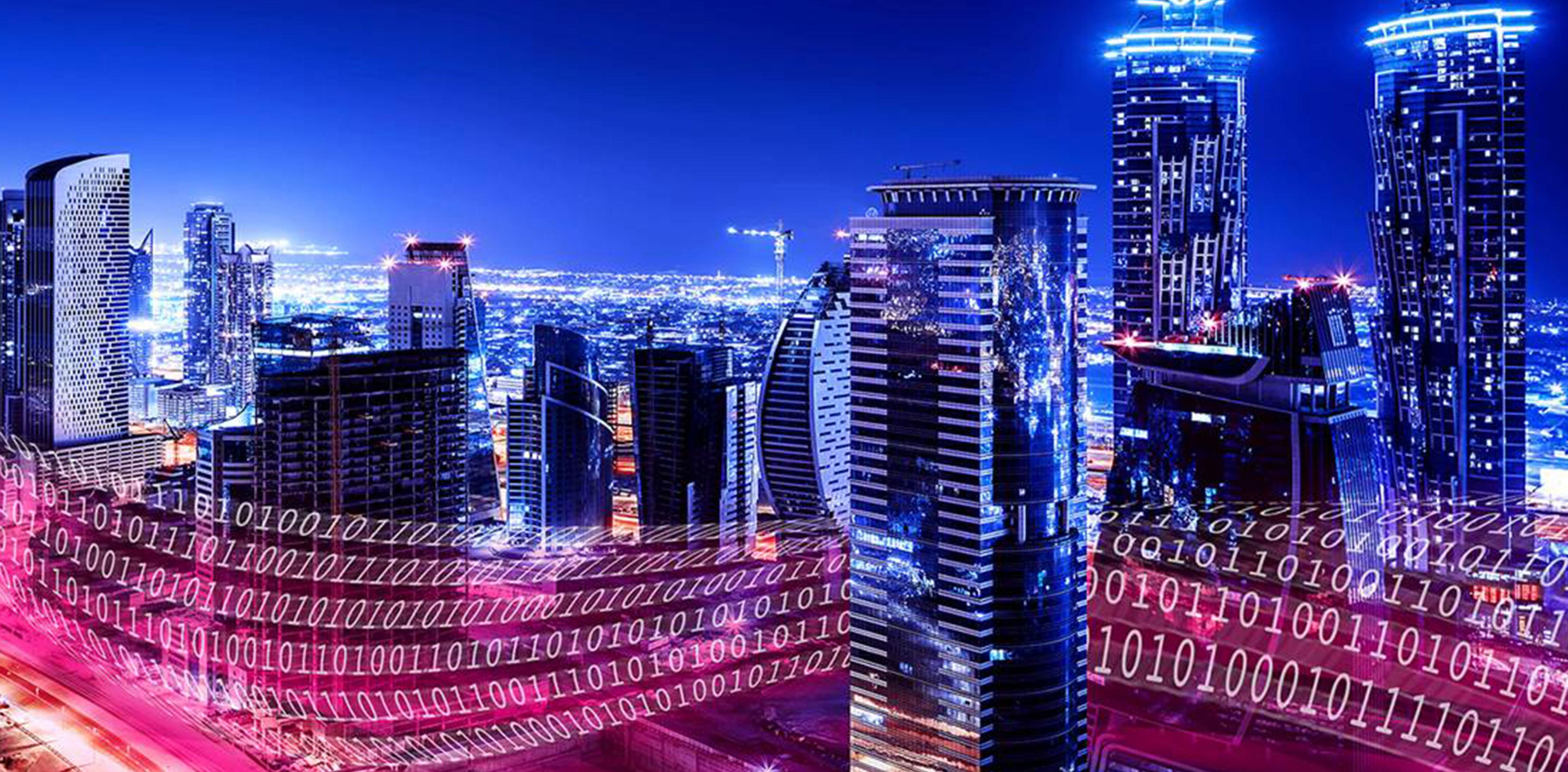 Städte werden digitaler und digitaler. Rechte: Deutsch Telekom
