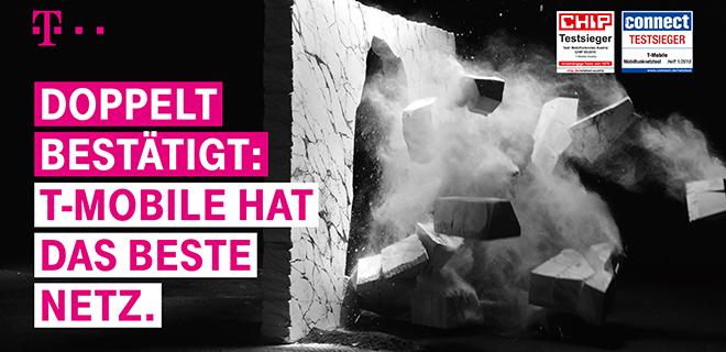 """CHIP-Netztest bestätigt Führungsrolle: T-Mobile hat das """"Beste Netz Österreichs"""""""