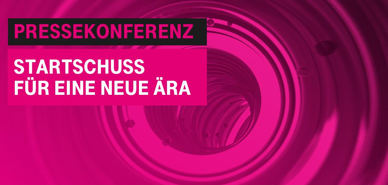 """Einladung Pressekonferenz """"Verschmelzung von T-Mobile und UPC. Startschuss für eine neue Ära"""""""