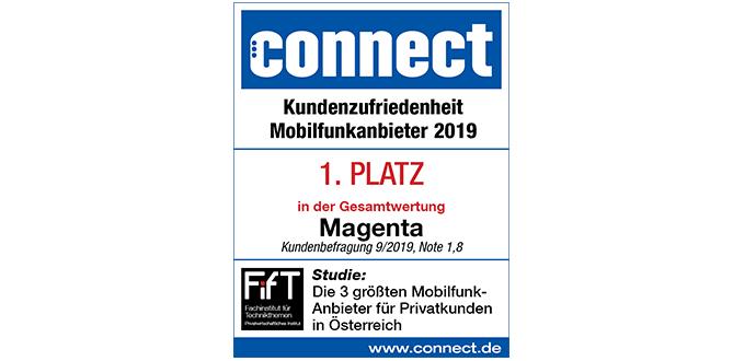 Magenta Telekom hat die zufriedensten Mobilfunkkunden in Österreich