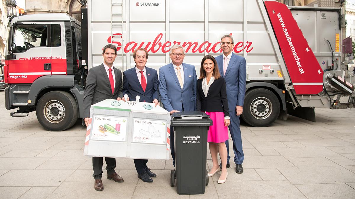 Saubermacher bringt einzigartige Smarte Mülltrennung im Netz von Magenta Telekom