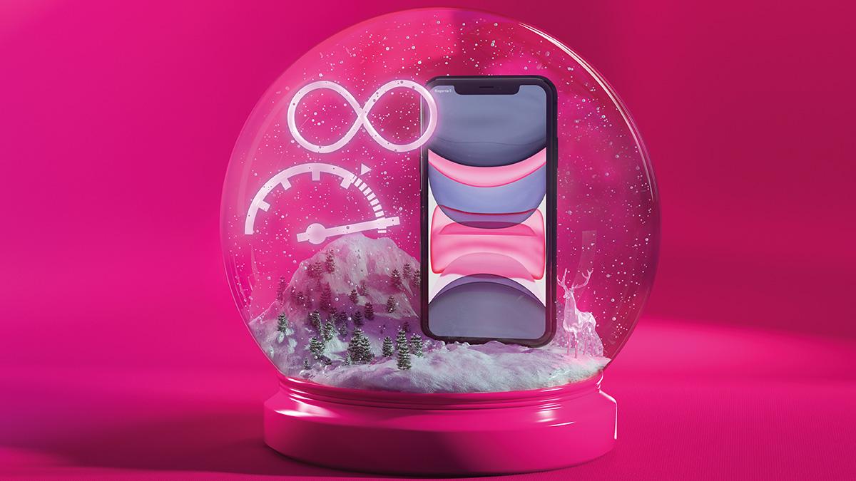 Magenta Weihnacht bringt erste echte 5G-Kombi, Top-Smartphones um 0 Euro und schenkt unlimitierte Daten bei Handytarifen