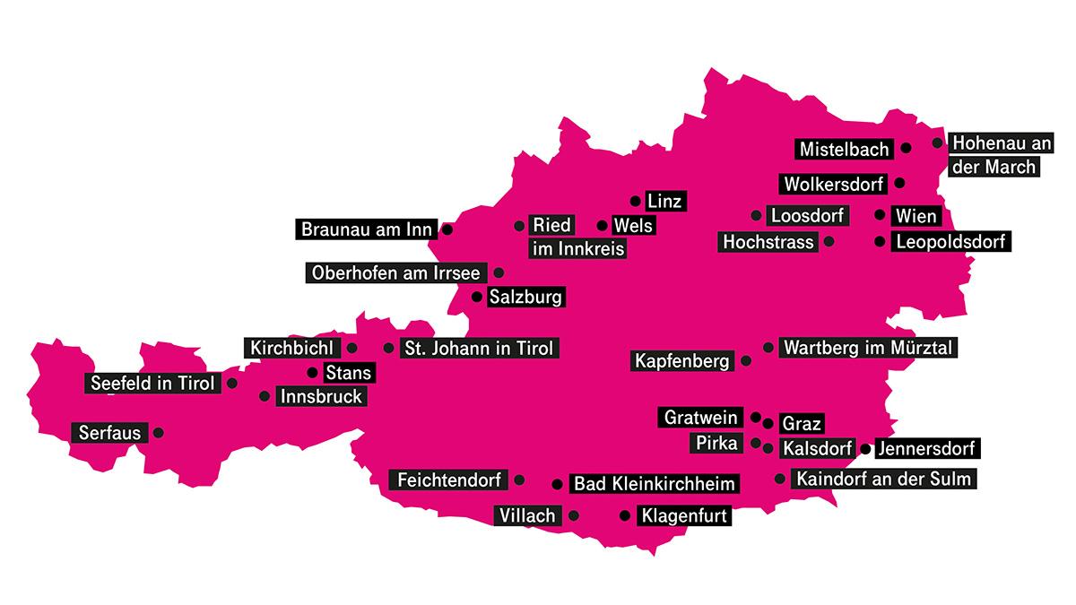 Magenta Telekom verdoppelt Zahl der 5G Standorte bis Ende 2019