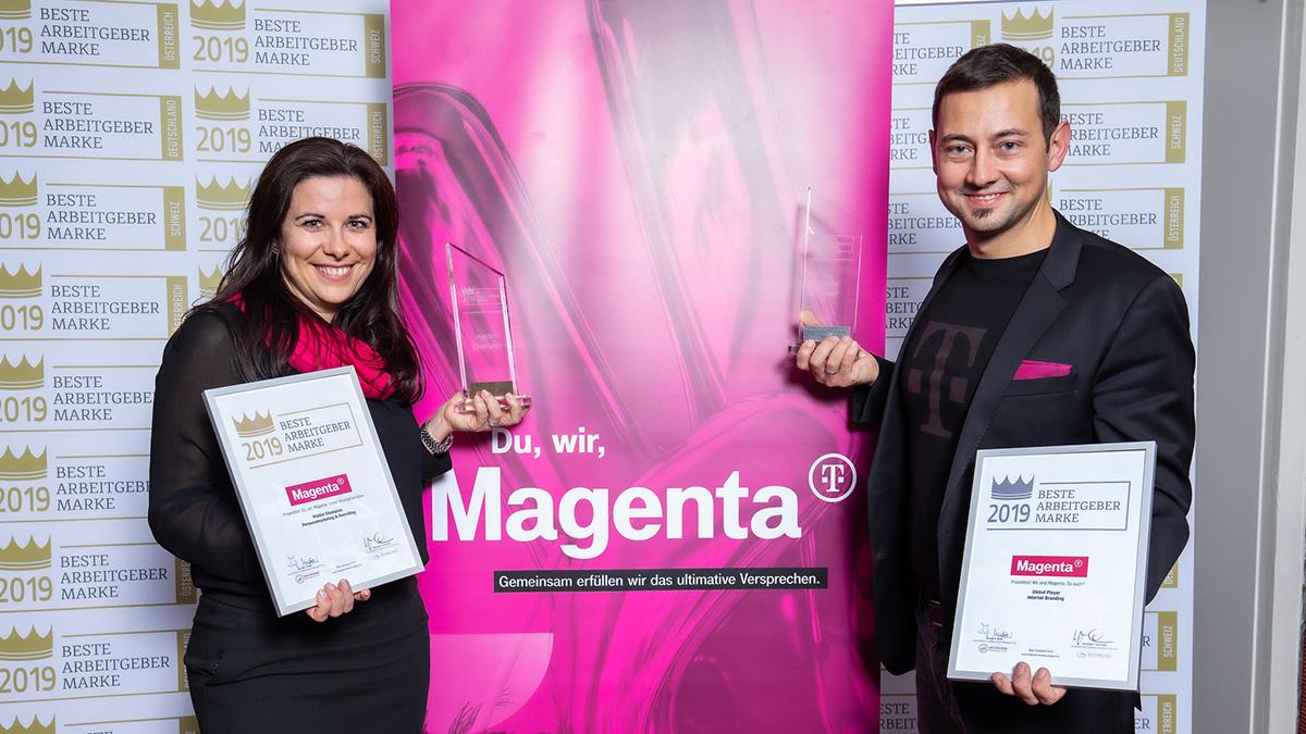 Employer Branding Awards 2019: Magenta zur besten Arbeitgebermarke gekürt