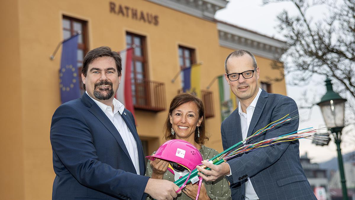 Magenta Telekom bringt Gigabit-Internet für mehr als 10.000 Haushalte in mehreren NÖ-Gemeinden