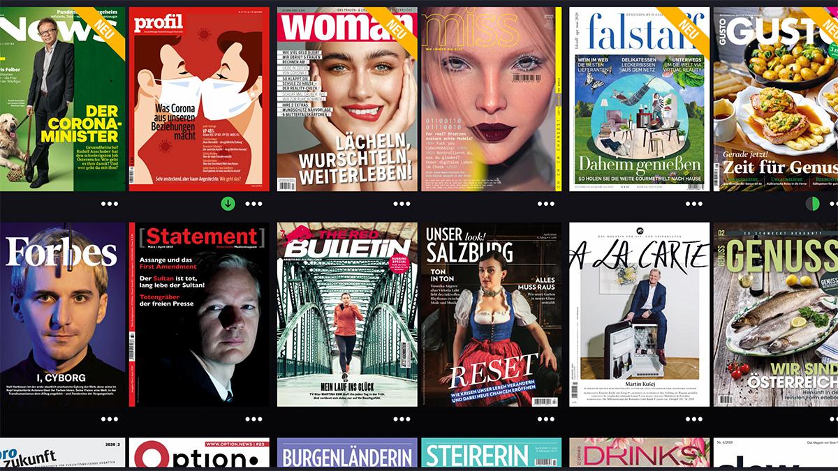 Magenta Kunden lesen mit Readly unbegrenzt Magazine online