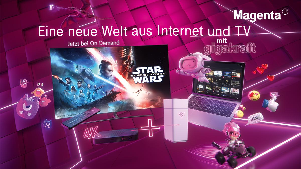 Magenta lanciert TV-Kampagne mit Fokus auf gestiegene Internet- und TV-Nutzung