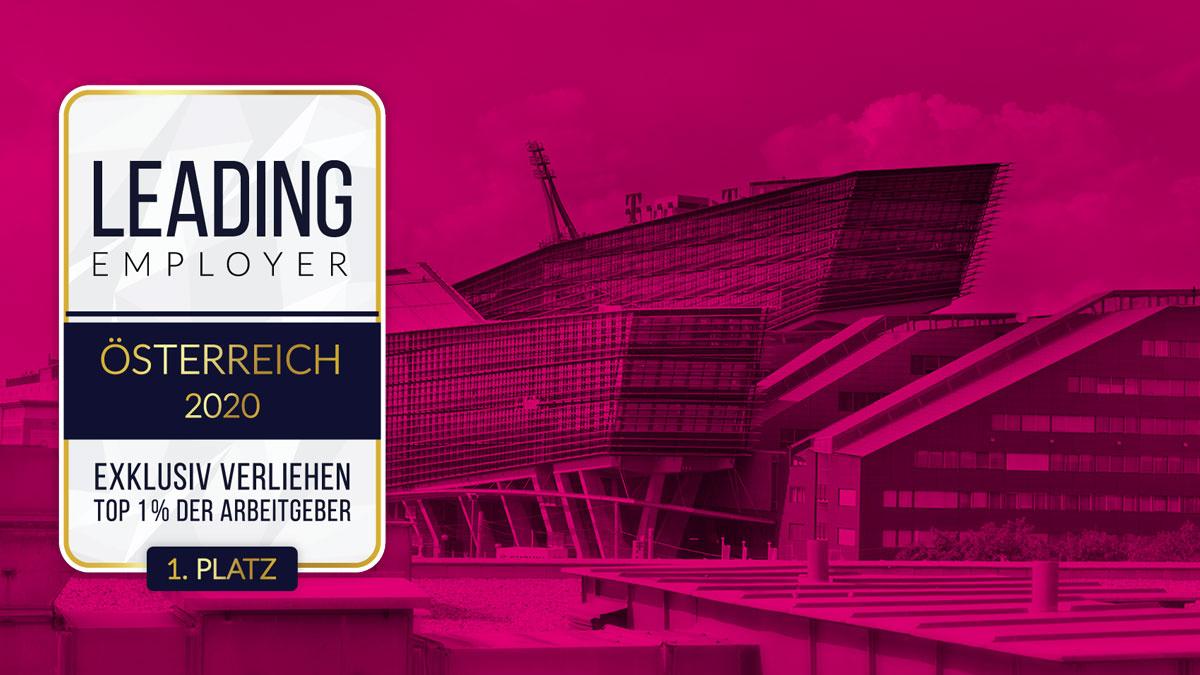 Magenta Telekom erneut als führender Arbeitgeber in Österreich ausgezeichnet