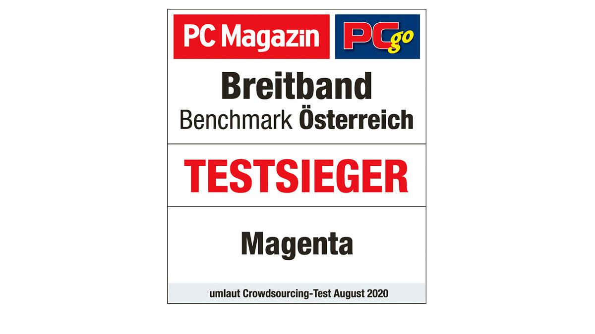 Klarer Testsieger: Magenta hat erneut das beste Breitbandinternet Österreichs