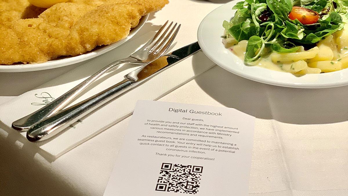 Corona in der Gastronomie: Gratis Gästeregistrierung von Magenta Telekom