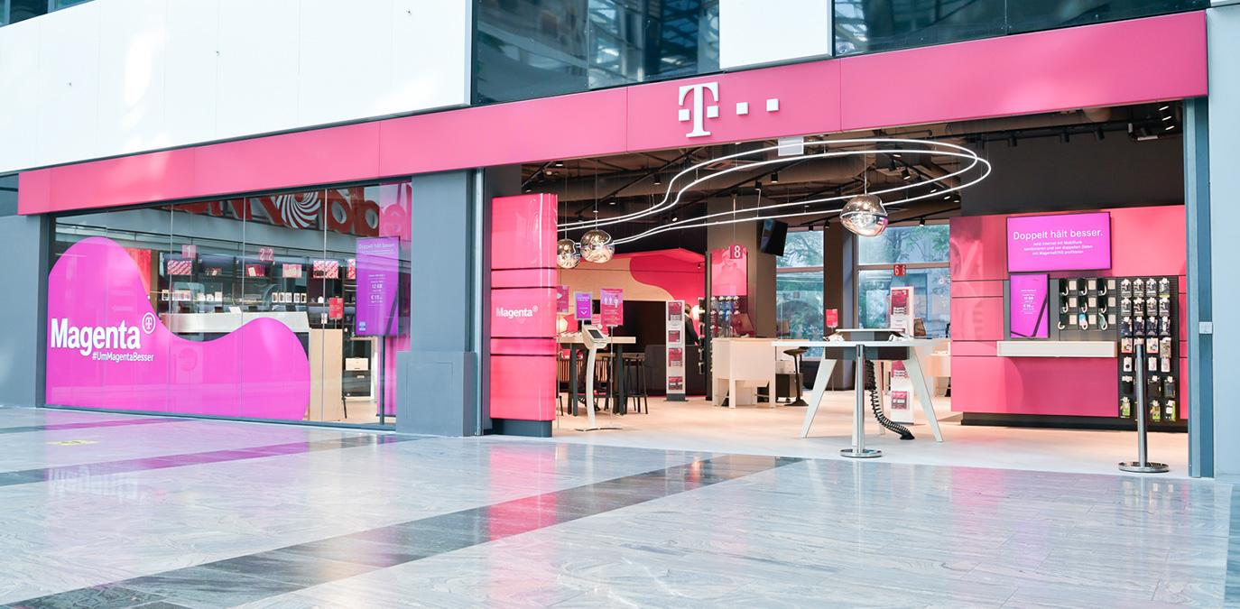 Neuer Magenta Shop in der Wiener Millennium City eröffnet