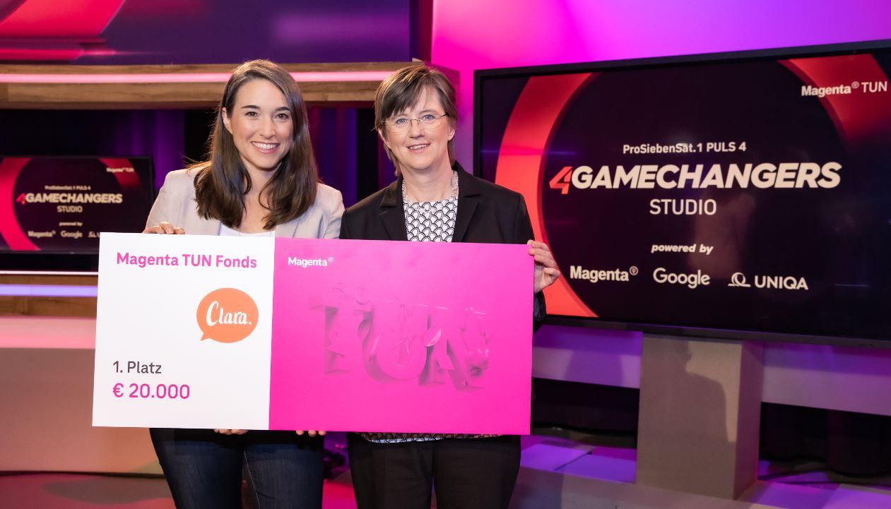 Social Start-up Clara gewinnt die Magenta TUN Challenge