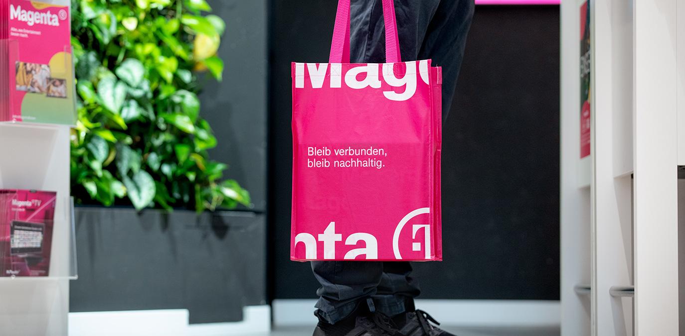 Magenta Shops setzen auf #GreenMagenta