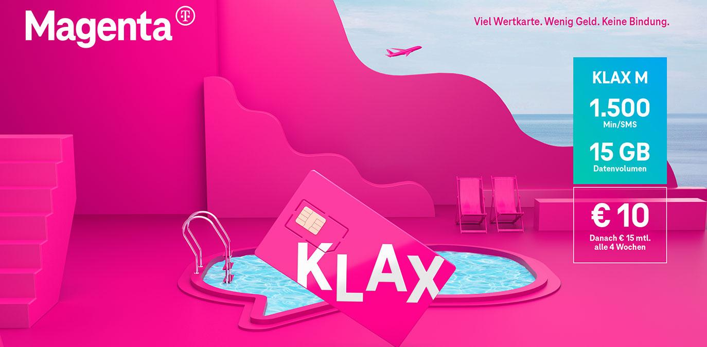 Urlaub für die Geldbörse: Klax-Kunden erhalten 10 GB geschenkt