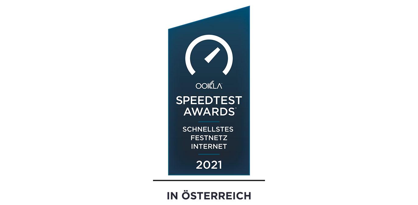 Magenta gewinnt Ookla Speedtest Award für das schnellste Festnetz-Internet Österreichs