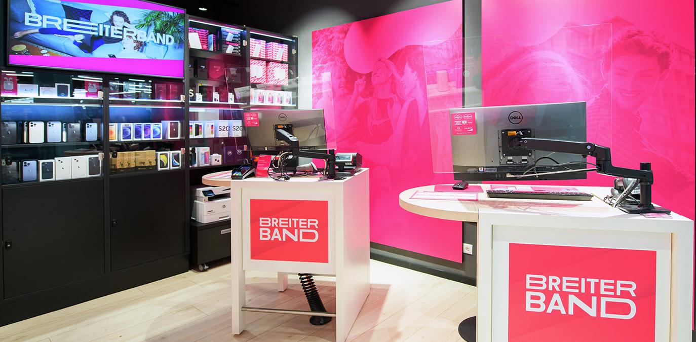 Klein, aber fein: Magenta eröffnet ersten Tiny Store im Riverside